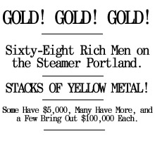 Seattle Post Intelligencer Klondike Edition, July 17, 1897