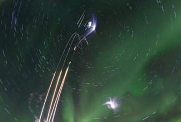 Alaska Scientists Launch 4 Rockets into Aurora Borealis