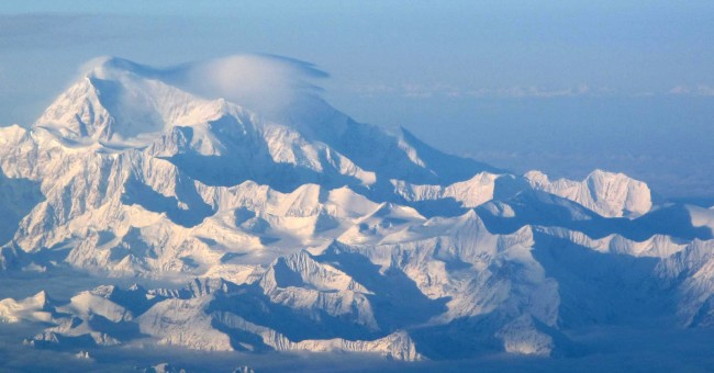 Despite volcano-like rumbles deep beneath the mountain, Denali will not erupt soon. (Photo by Ned Rozell/UAF Geophysical Institute)