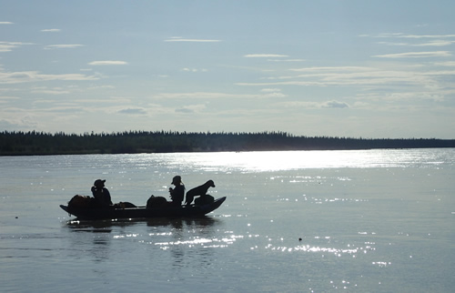 A float down Alaska's Tanana River