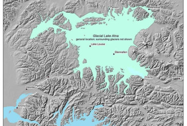 Spillways Of An Ancient Alaska Lake