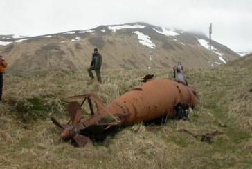 Japanese Submarines on Kiska Island in Alaska