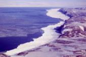 Lack of sea ice near Savoonga, Alaska and Lower 48 weather