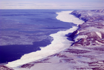 Lack of sea ice near Savoonga, Alaska and Lower 48 weather